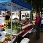 Vendor At The Penn Street Market