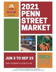 Penn Street Market 2021 Sponsorship